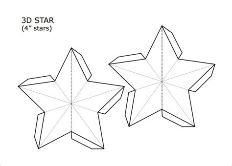 Christmas Snowflake Templates 15 Free Printable Sle Exle Format Download Free 3d Template Pdf