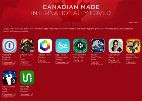 12 Of The Best Apps Made In Canada This Year Techvibes - apple features quot canadian made internationally loved quot apps