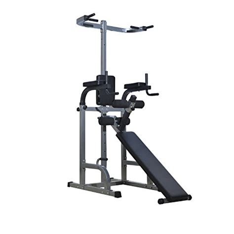 vertical sit up bench soozier 80 quot full body power tower home fitness station w