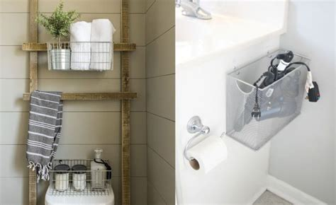 tips trick for saving space in small bathrooms and seven tips to save space in a small bathroom