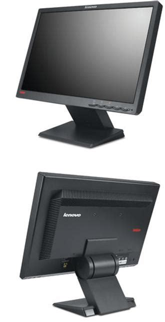 Monitor Lcd Lenovo 19 Inch thinkvision l194 19 inch wide flat panel lcd monitor