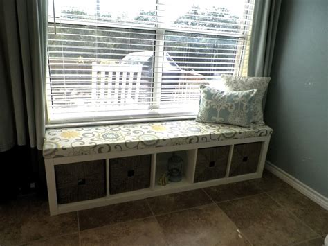 storage bench ikea hack ikea hack turn a shelving unit into a window seat home