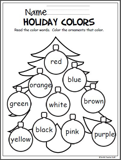 christmas coloring pages pre k colorful christmas tree madebyteachers