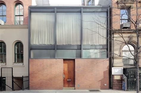 Treasure Trove Floor Plan Philip Johnson S Rockefeller Guest House A Secret