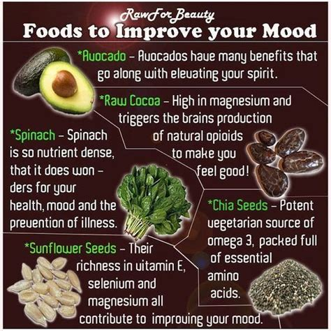 Food Broaden Your Culinary Experience by Foods To Improve Your Mood Food Drinks Happiness Positive