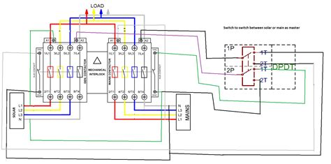 automatic transfer switch wiring diagram wiring diagram