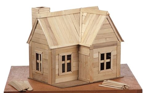 Home Design 3d Outdoor And Garden Tutorial how to build a house out of lollipop sticks ehow uk