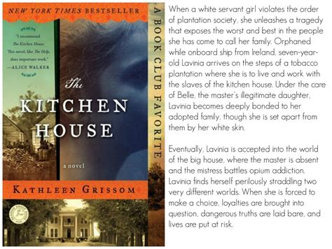 Kitchen House Book by The Blissful Bookworms Book Club March