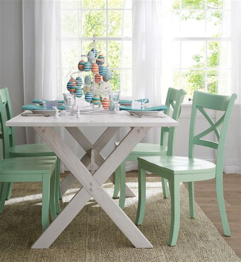 Picnic Dining Room Table Picnic Table Contemporary Dining Room Chicago By Crate Barrel