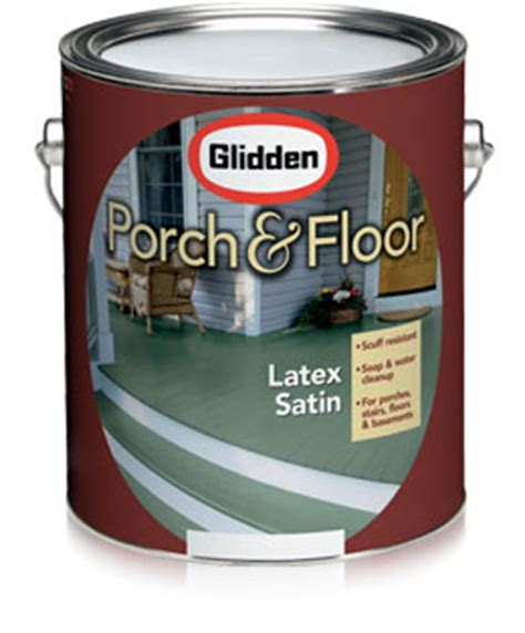 glidden 174 porch floor satin low maintenance paint