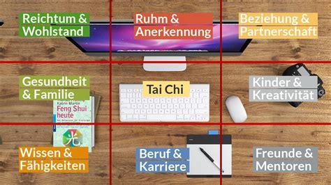 Feng Shui Schreibtisch Ausrichtung by Ihr Schreibtisch Kann Mehr Aktivierung Mit Dem Bagua Dfsi