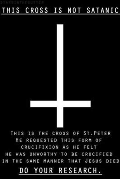 what does a upside down cross tattoo mean 1000 ideas about cross on the
