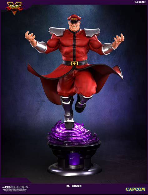 Pop Culture M by Fighter V M Bison Statue By Pop Culture Shock