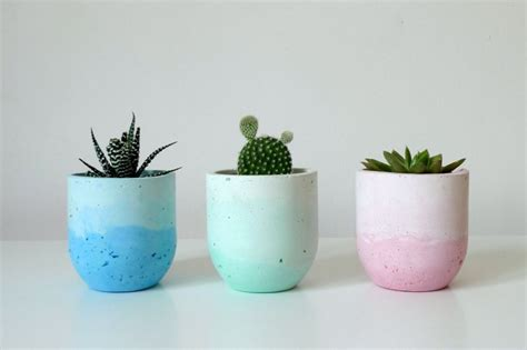 Elegant Vase How To Craft Stylish Concrete Planters Of All Shapes And Sizes