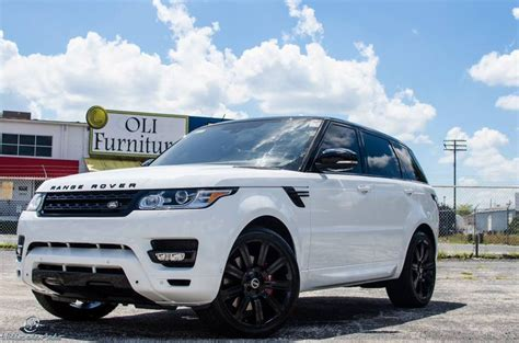 range rover blue and white stormtrooper white range rover sport auto