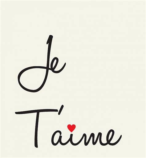 Je Taime by 17 Best Ideas About Je T Aime On Message Je T