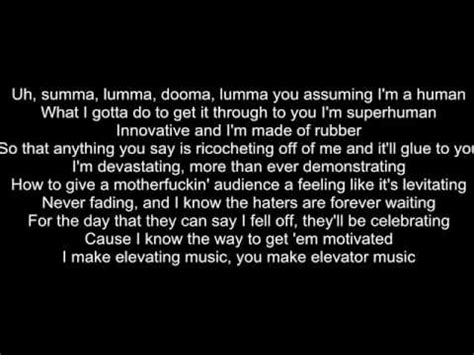 testo rap god eminem rap god eminem version lyrics