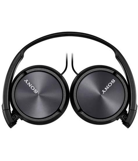 Headphone Sony Mdr Xb450 sony mdr xb450 on ear wired headphone with mic black buy