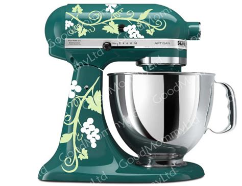 Grape Kitchenaid Mixer by Grape Vine Mixer Decals For Your Kitchenaid Stand By
