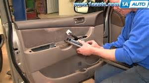 How to install replace driver master power window switch toyota sienna
