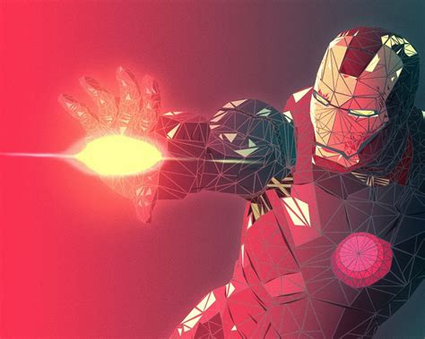 iron man wallpaper for macbook 1280x1024 fractal iron man 3d render desktop pc and mac