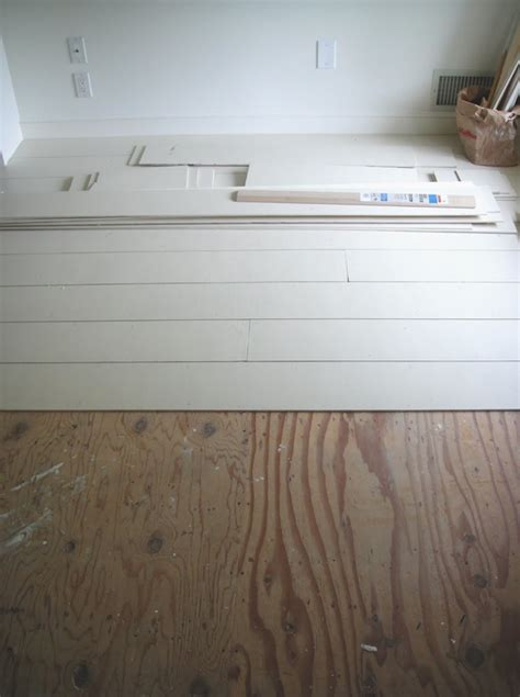 White Painted Wood Floors by This Look White Painted Floors From Frugal