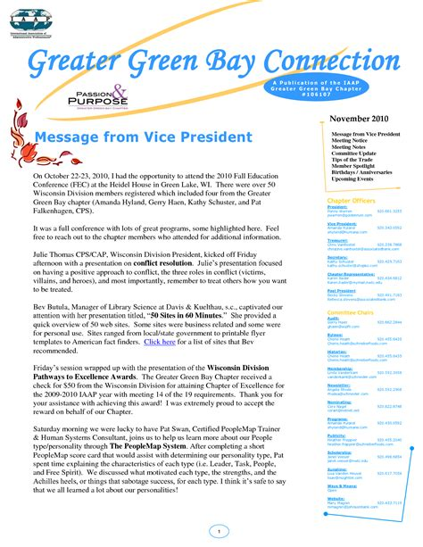Newsletter Templates Free Printable Print Newsletter Templates