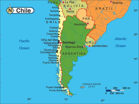 south america map chile nothin sez somethin chile