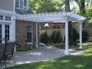 Build Pergola On Existing Patio by How To Build A Pergola Over A Patio Pdf Woodworking