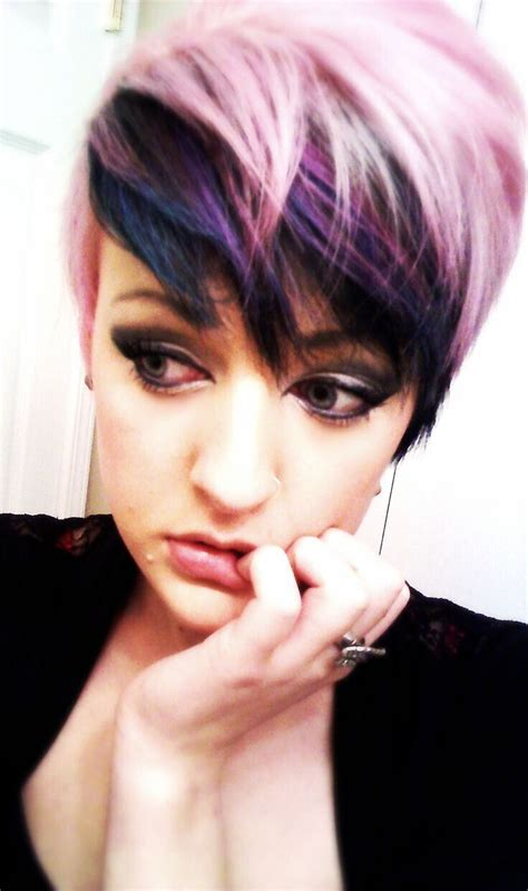 color and cut 17 stylish hair color designs purple hair ideas to try