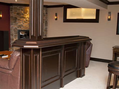 basement bar with granite custom home bars