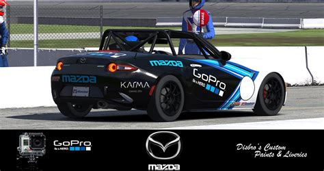 global cup gopro mx 5 global cup car by disbro2 trading paints