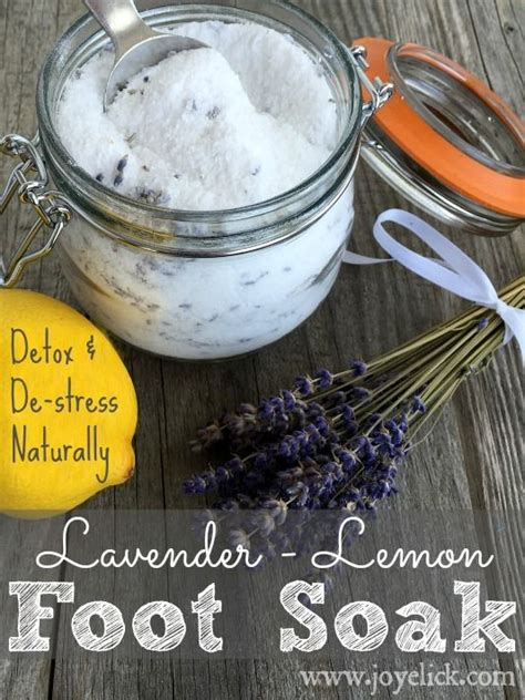Lemon And Lavender Detox Bath by 1000 Ideas About Foot Detox Soak On Foot