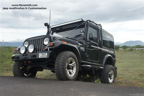 thar jeep modified in kerala mahindra thar modified hardtop pixshark com images