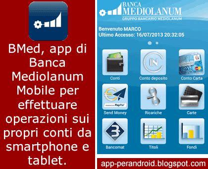 mediolanum sedi app per android mediolanum mobile