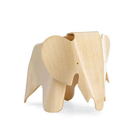 Eames Elephant Stool by Vitra Miniature Plywood Elephant Stool By Charles And