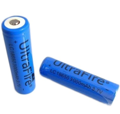 Battery Ultrafire 18650 37v 6000mah With Button Top 18650 ultrafire