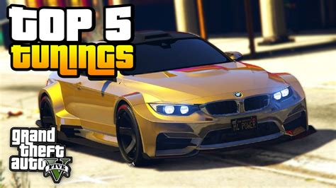 Gta 5 Auto Tuning by Die 5 Besten Tuning Autos In Gta 5 Icrimax