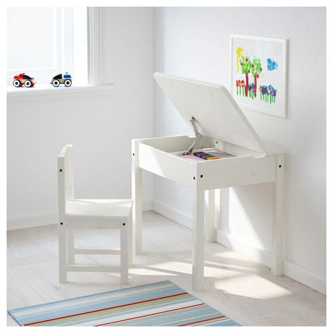 Sundvik Children S Desk White 58x45 Cm Ikea Small Child S Desk