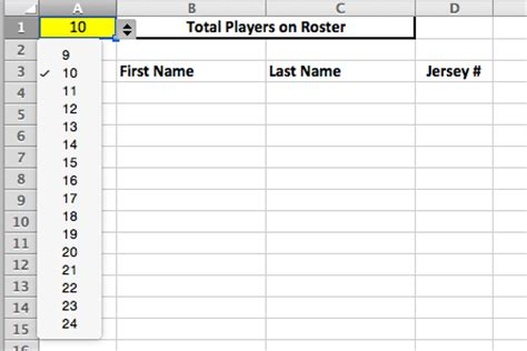 Youth Baseball Lineup Manager And Template Spiders Elite Baseball Order Form Template