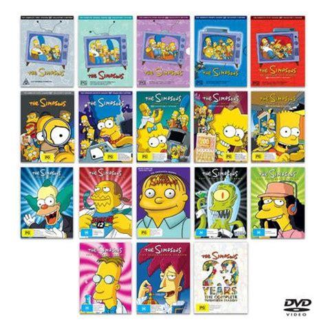 Dvd Simpsons The Boxset Original new the simpsons complete series collection seasons 1 17 and season 20 dvd ebay