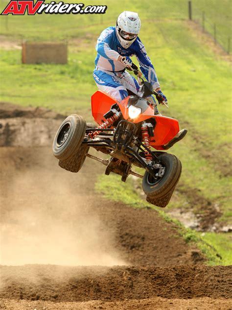 motocross race tracks 2009 ktm 505sx 450sx atv motocross test ride review