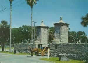 Of St Augustine Vintage Travel Postcards St Augustine Florida