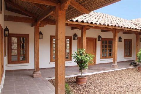 patios de casas modernas casas con estilo colonial
