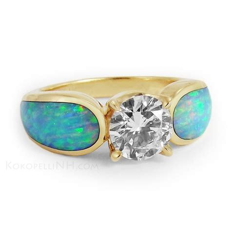1000 images about opal wedding rings ideas on