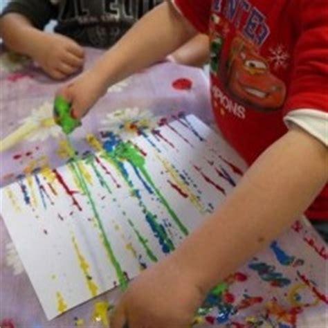 Idee Peinture Enfants by Peinture Sans Pinceau 25 Id 233 Es Cr 233 Atives