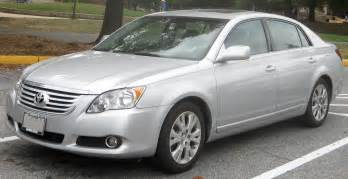 Toyota Avalon Europe 2008 Toyota Avalon Iii Pictures Information And Specs
