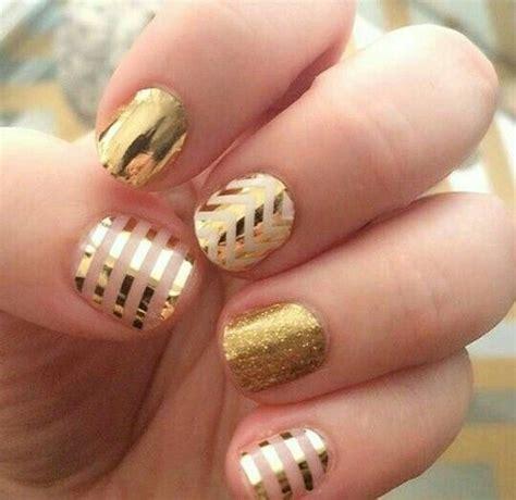 imagenes uñas negro con dorado unas decoradas color dorado 14 curso de organizacion
