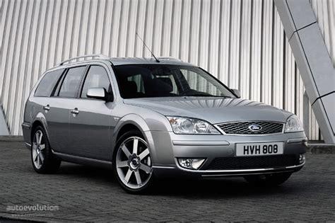 ford mondeo wagon specs    autoevolution