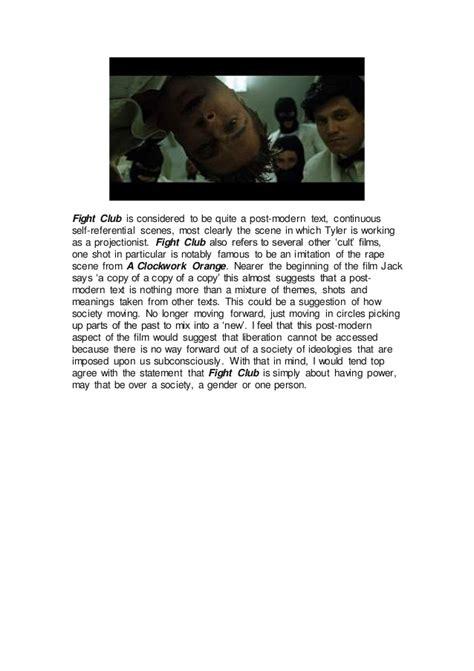 Fighting Essay by Fight Club Essay Identity Pgbari X Fc2